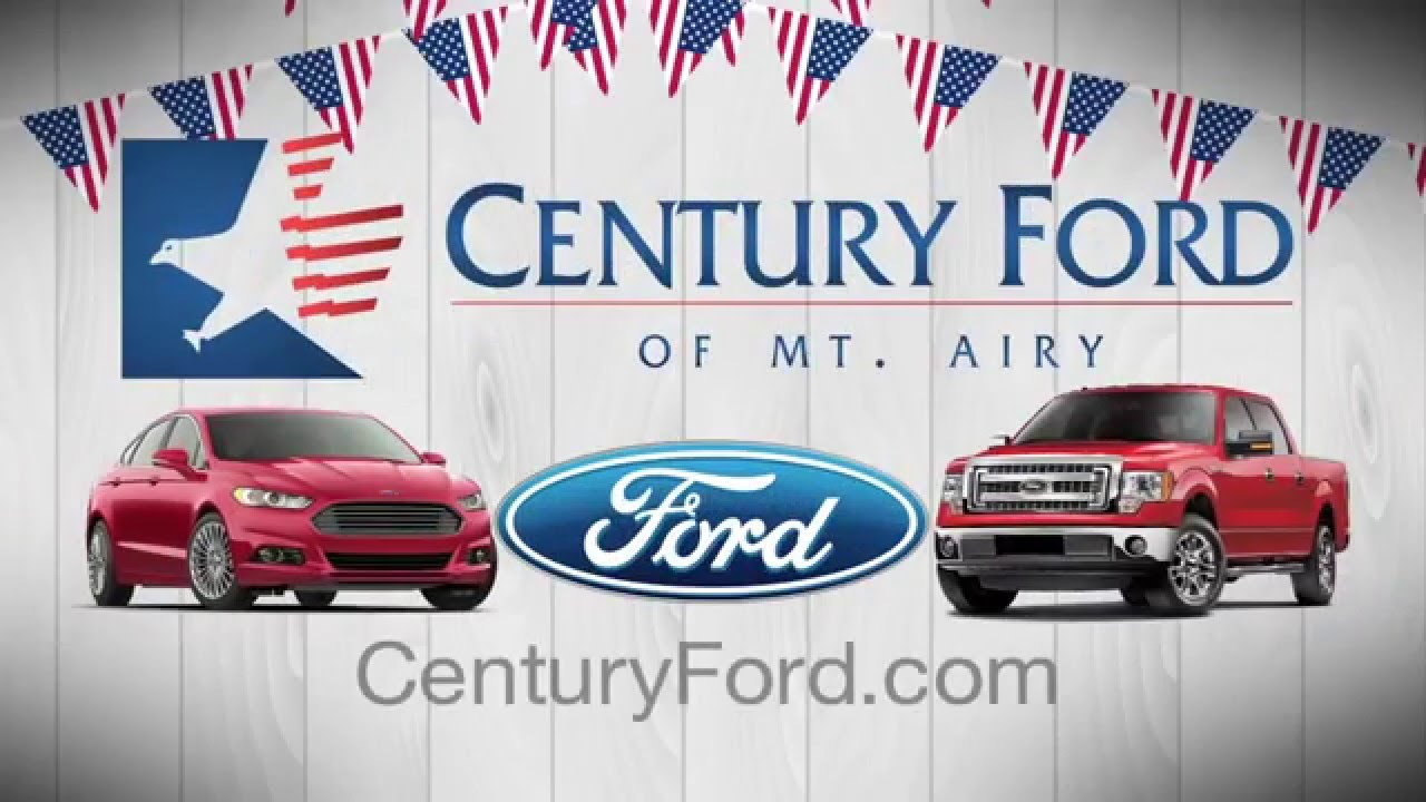 Presidents Day Car Sales 2017 >> Century Ford Of Mount Airy Maryland Delivers For The Presidents Day
