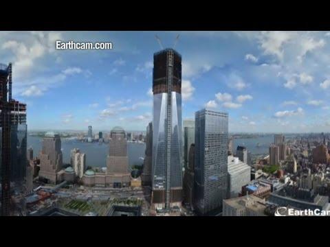 La tour 1 du world trade center devient la plus haute de for Plus haute tour new york