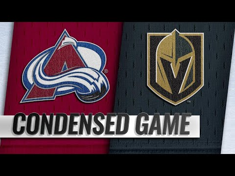 12/27/18 Condensed Game: Avalanche @ Golden Knights