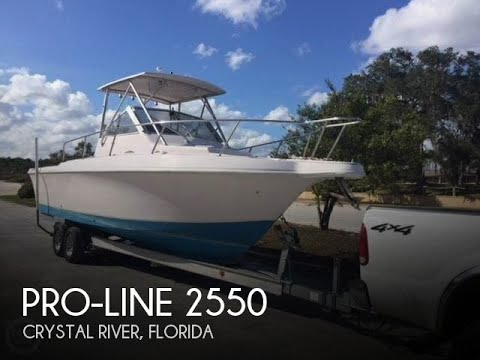 Proline Boats For Sale >> Used 1994 Pro Line 2550 Mid Cabin For Sale In Hawthorne Florida