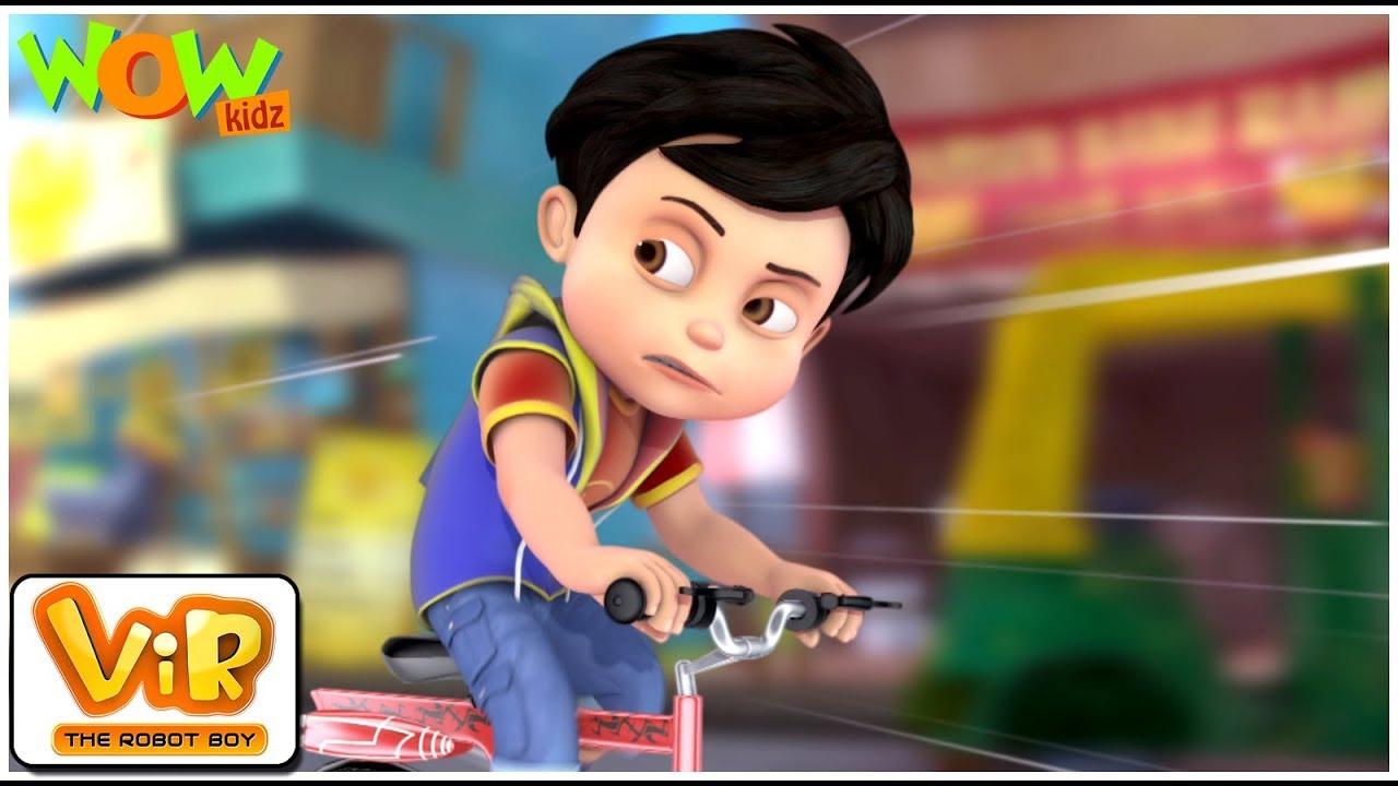 Download Sketsa Gambar Vir The Robot Boy