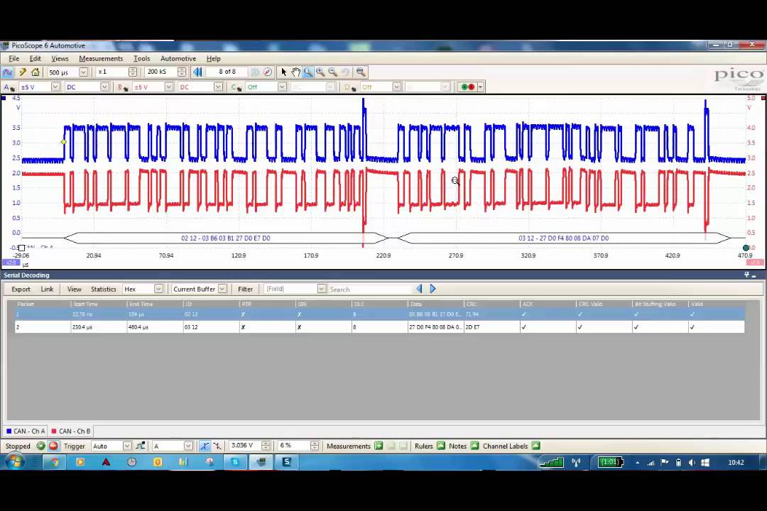 Decoding a CAN bus signal