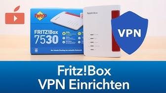 Fritz!Box - VPN Verbindung einrichten