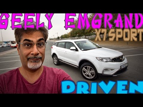 Geely Emgrand X7 Sport - definitive comprehensive review!