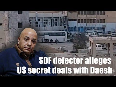 [Syria] [Raqqa] Talal Silo - SDF defector alleges US secret deals with Daesh