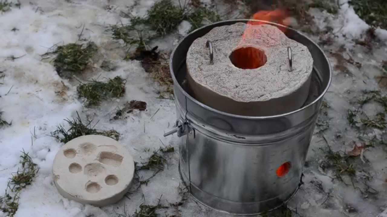 Mini Furnace - 1st Attempts at Melting Aluminium - YouTube