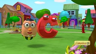 Learn Alphabets | Alphabet adventure with Humpty the flying egg | learn ABC | Kiddies tv