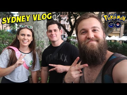 CATCHING UP WITH ZOETWODOTS AND THE FLEECEKING (SYDNEY POKEMON GO VLOG) thumbnail