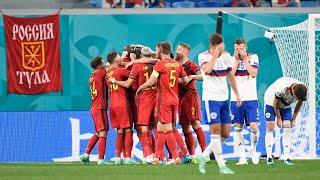 Обидное поражение сборной России от Бельгии на Евро 2020