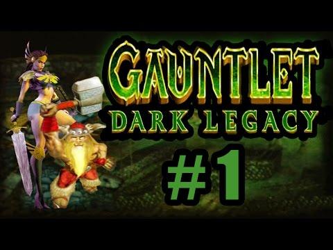 Gauntlet Dark Legacy | Part 01: Poison Fields (2 player)