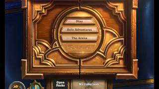 Hearthstone Music - (My 1st Video - Check the description!)