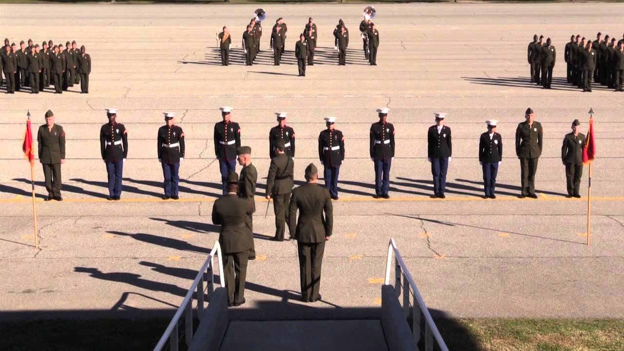 parris island graduation ceremony-distinguished graduates-11/20/15