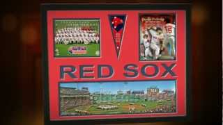 Boston Red Sox Ticket Stubs, Prints and Posters, Fenway Park & Player Photos Framed @ ArtandMore.com