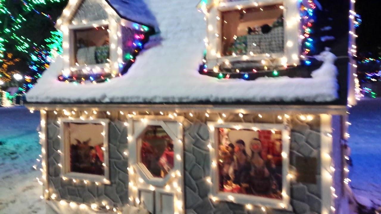 Christmas Village Lights, 25th street, Ogden, Ut - YouTube