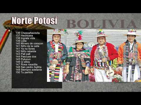 MÚSICA BOLIVIANA - MIX NORTE POTOSI