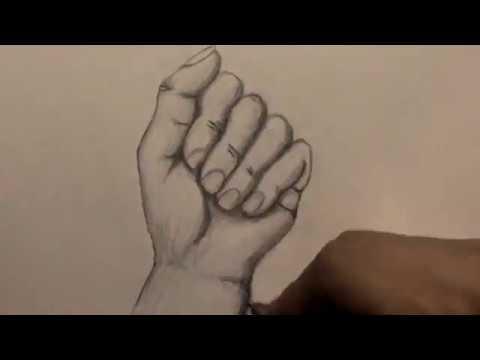 Hızlandırılmış Karakalem El çizimi Youtube