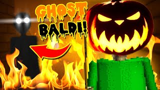 BALDI CHAPTER 3 ENDING!    Baldi's Unreal Basics (Halloween Update + Chapter 3)