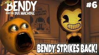 Bendy & the Ink Machine Ch. 3: BENDY STRIKES BACK! #6 [Annoying Orange Plays]