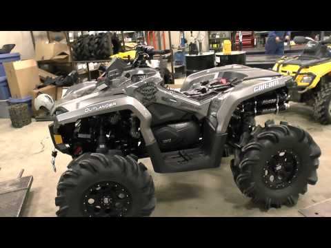 Four Inch Lifted CATVOS Outlander BREX PPSM 1000xt Project!