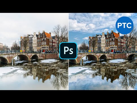 How To Replace The Sky In A Photo With Photoshop (Including Reflections!)
