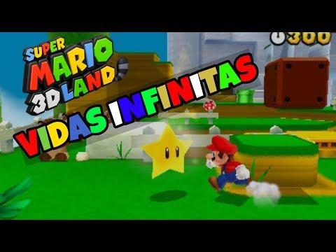 Truco Vidas Infinitas Super Mario 3D Land