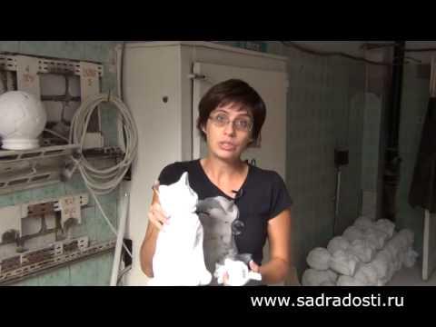 видео: Производство изделий из гипса