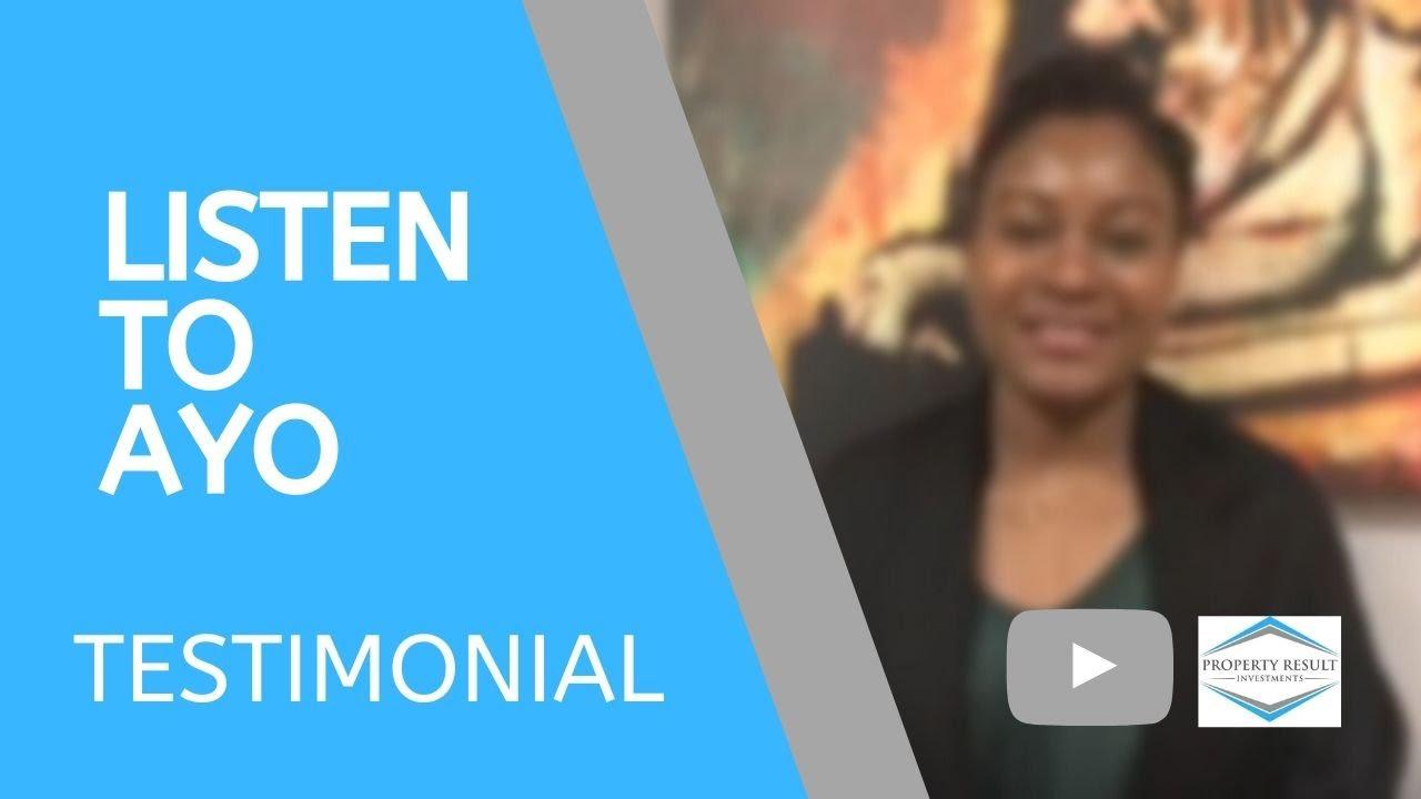 Listen to Ayo's Testimonial