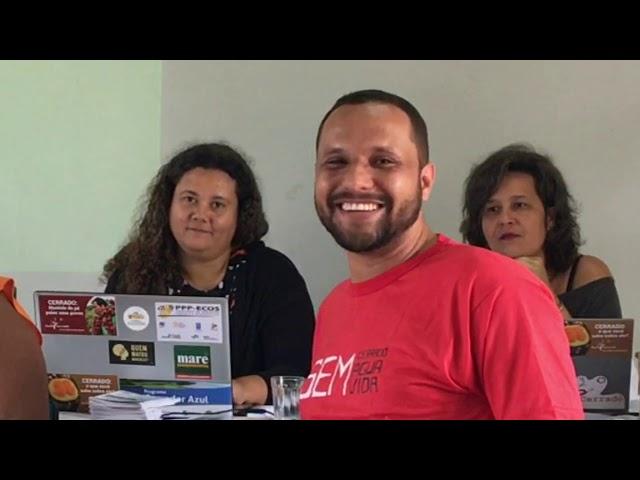Clebson Souza, CAV - I Oficina de Territórios da Rede Cerrado