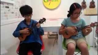 Guava Jam- ukulele duet - 원준&윤아