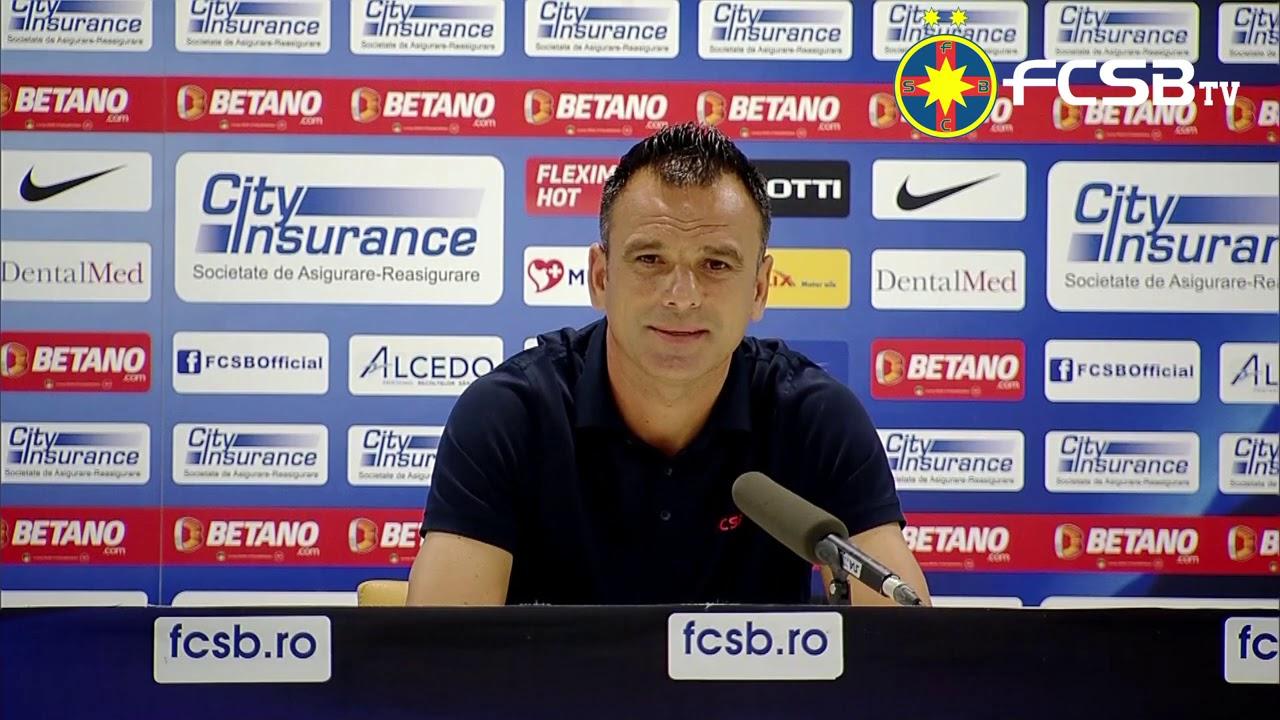 Conferință de presă după FCSB - SC Shirak!