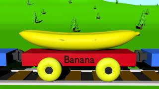 Repeat youtube video The Fruit Train - Learning for Kids