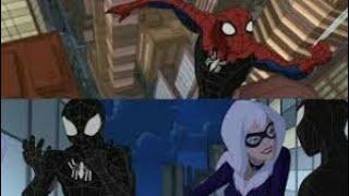 Симбионт незаметно захватывает человека паук грандиозный человек паук