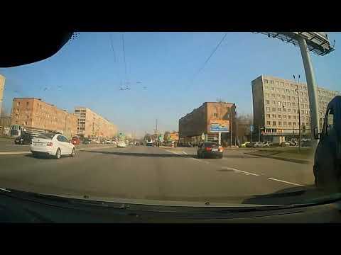 23.04.2019 Володарский мост, Народная ул. 9. ДТП Шевроле Круз
