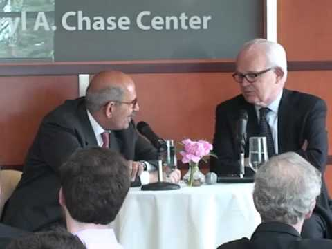 A Discussion With Muhammad ElBaradei