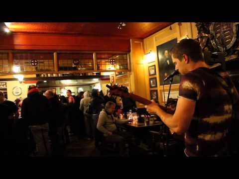Adam F D'Arcy performs 'Hoochi Coochi Man' live at the Glebe Stoke