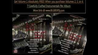 Beats 4 da Streets vol.3 (BLG Beats) 7 Dark Underground Instrumental Beats Album