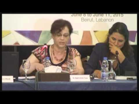 5  Women in War Annual  Conference, Beirut, June  2015
