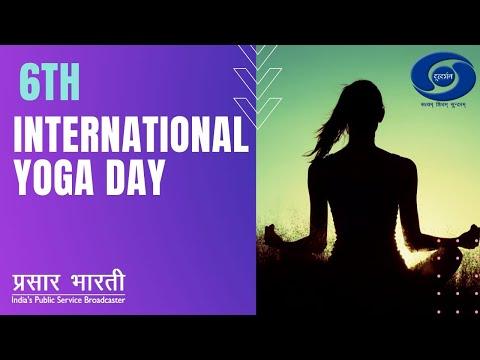 6th International Yoga Day 2020 LIVE