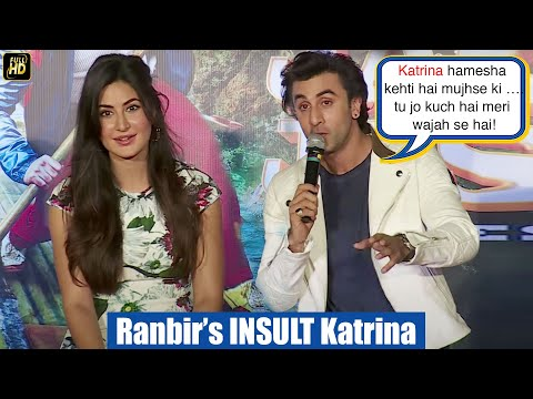 Jealous Ranbir's Shocking INSULT To Katrina At Jagga Jasoos Galti Se Mistake Song Launch