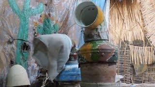 مواطن من قنا يخترع التكييف الفخاري السحري