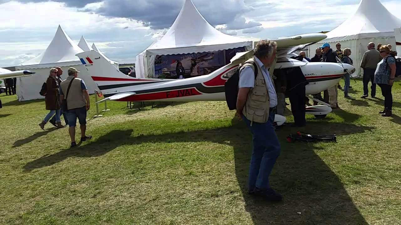 Salon ulm a ronautique blois 2015 part 1 youtube for Salon ulm blois