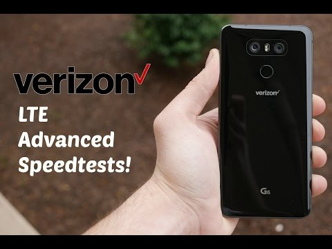 Verizon LTE Speed Test! Network Testing LTE Advanced