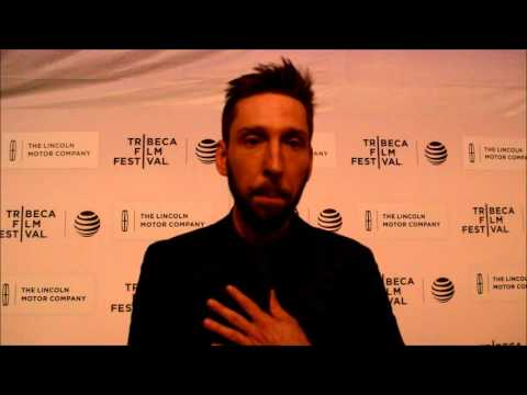 Joel David Moore at the 2016 Tribeca Film Festival