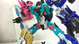 Transformers Combiner Wars Liokaiser Combined Mode Toy Review