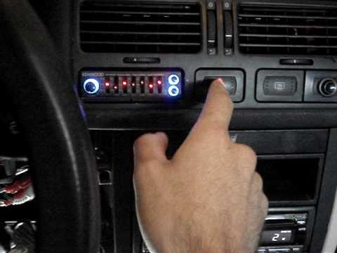 Jetta A4 push strart button preview - YouTube