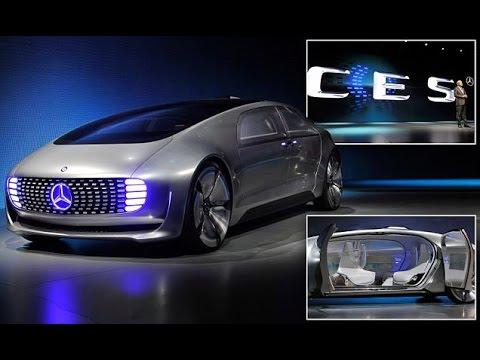 Mercedes-Benz F015 Self-Driving Car Concept Debuts At CES 2015