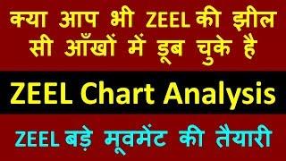 ZEEL बड़े मूवमेंट की तैयारी !! क्या आप भी ZEEL की झील सी आँखों में डूब चुके है ! ZEEL Chart Analysis