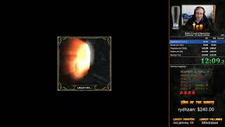 Diablo 2 LoD Any% Normal Sorceress Speedrun 1:17:20 [PB]