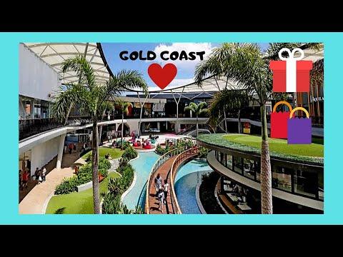 GOLD COAST, the luxurious PACIFIC FAIR SHOPPING MALL (Queensland, AUSTRALIA)
