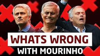 What's Going On With Jose Mourinho? Manchester United Crisis?
